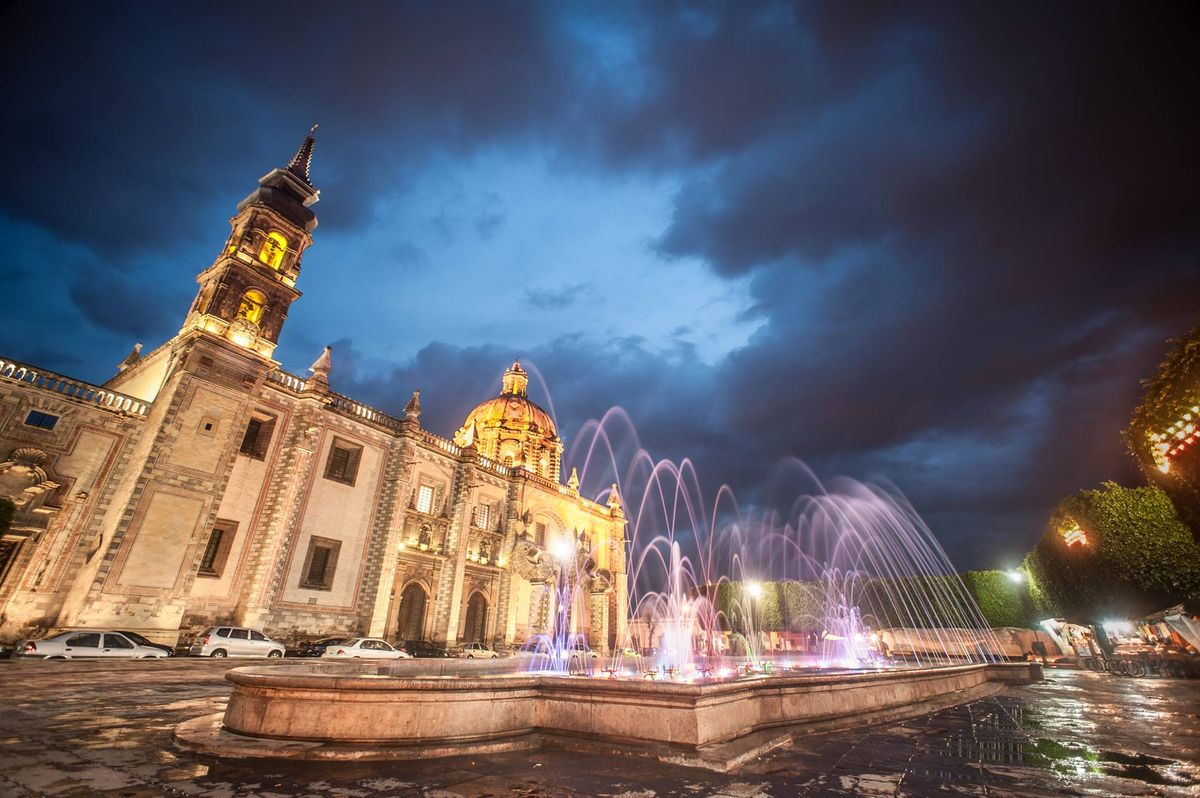 city fountains